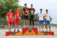 Podium juniors CdM