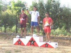 Podium individuels juniors